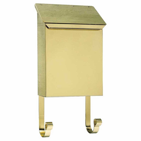 Brass Vertical Mailbox