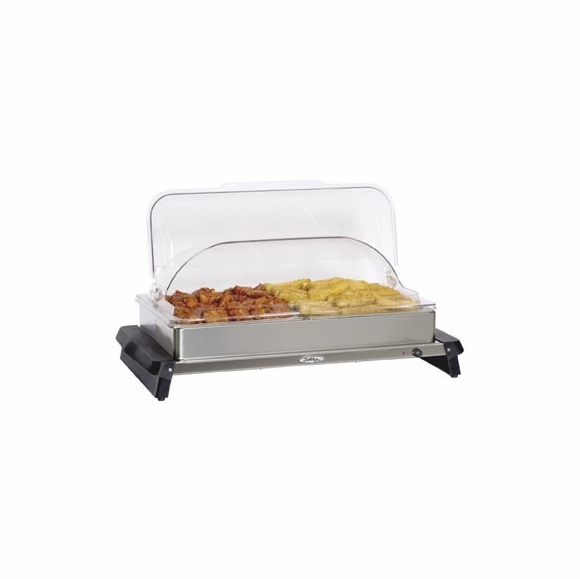 BroilKing NBS-2RT Roll Top Double Buffet Server