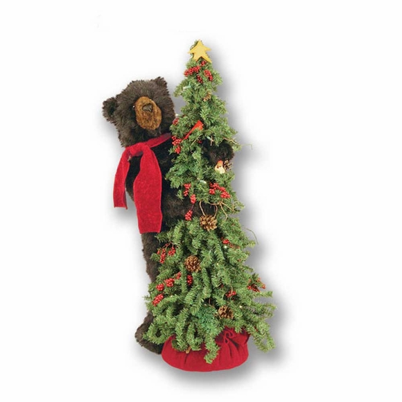 Brown Bear Christmas Tree Bear
