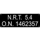 Canadian Vessel Registry Plate