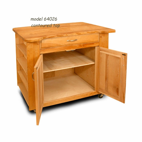 Catskill Craftsmen Deep Storage Kitchen Island