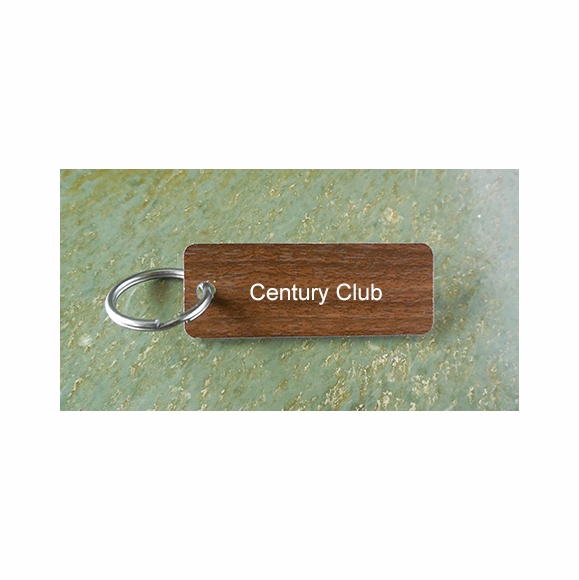 Century Club Key Chain - 100 Rides, 100 Ounces, 100 Contacts, etc.