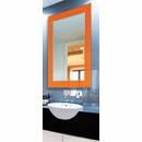 Electric Fog Free Vanity Mirror with Color Border