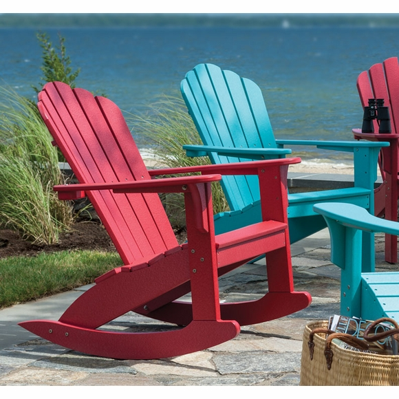 Coastline 302 Harbor View All Weather Outdoor Rocker