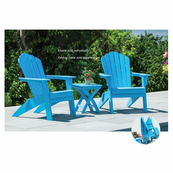 Coastline 303 Harbor View Folding Adirondack Chair