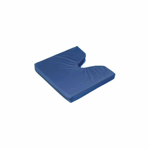 Coccyx cushion with waterproof cover