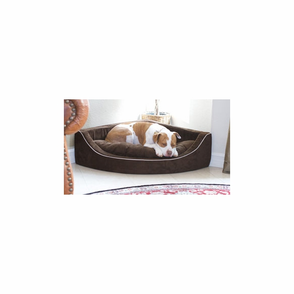 Companion Roc Corner Lounger - Bed For Dogs, Cats, Pets