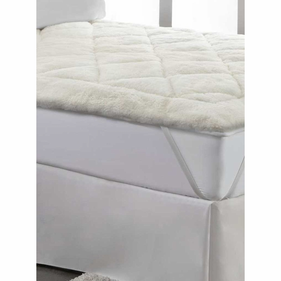 Cool Wool Reversible Mattress Pad