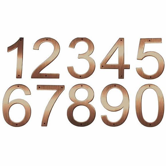 Copper House Number
