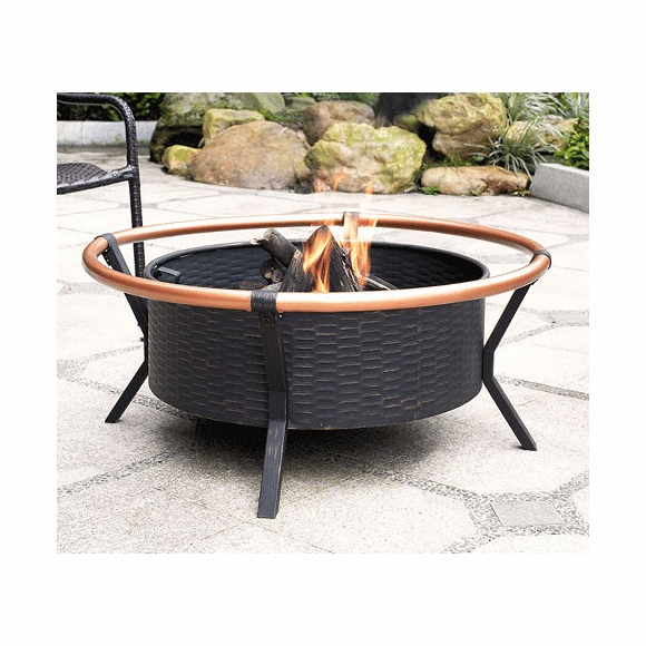 Copper Ring Outdoor Fire Pit