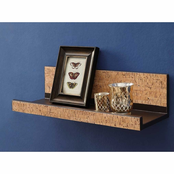 Cork Wall Shelf