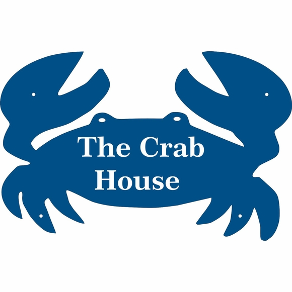 Crab Sign For Home or Business