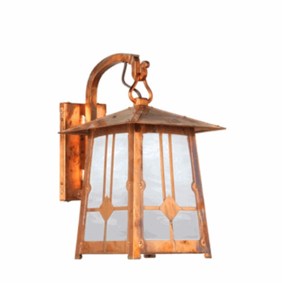 Craftsman Outdoor Wall Mount Lantern Light
