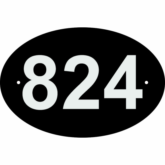 Reflective 911 Address Sign