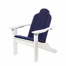 Custom Cushion for Seaside Casual Adirondack Classic Occasional Chair