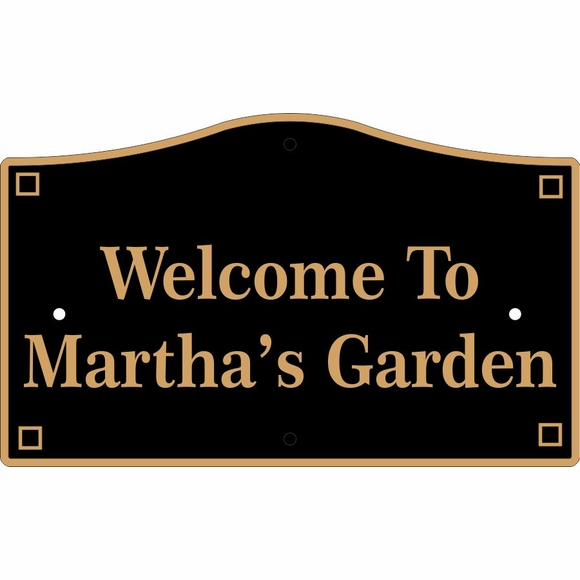 Custom House Plaque or Lawn Sign