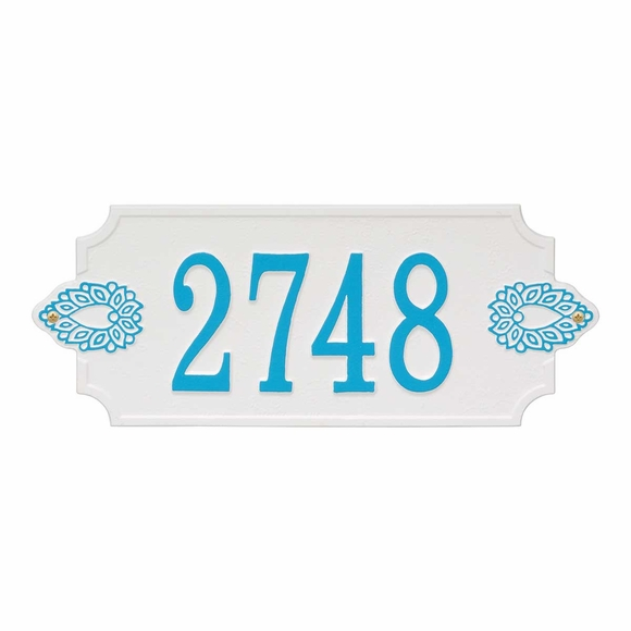 Decorative House Number Sign