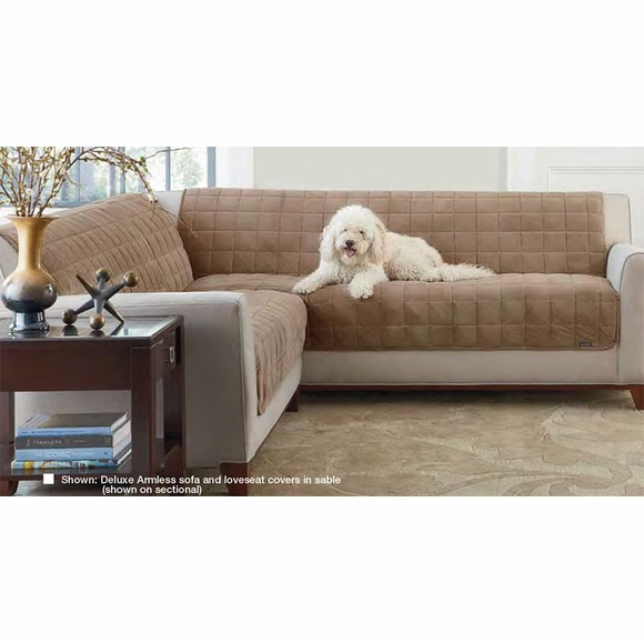Deluxe Furniture Protector for Armless Loveseat