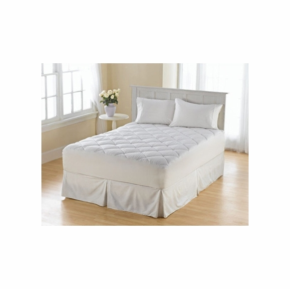 Diamond Quilted Mattress Pad for Deep Mattress