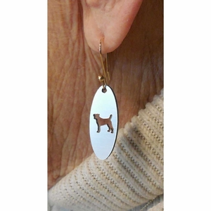Dog Earrings - Terrier, Lab, Poodle, Shepherd, Setter, Beagle, Dachshund and Other Breeds