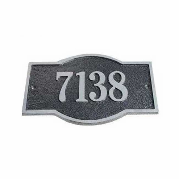 Double Arch Address Plaque