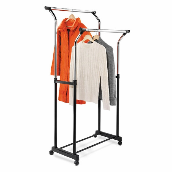 Double Rod Coat  Rack