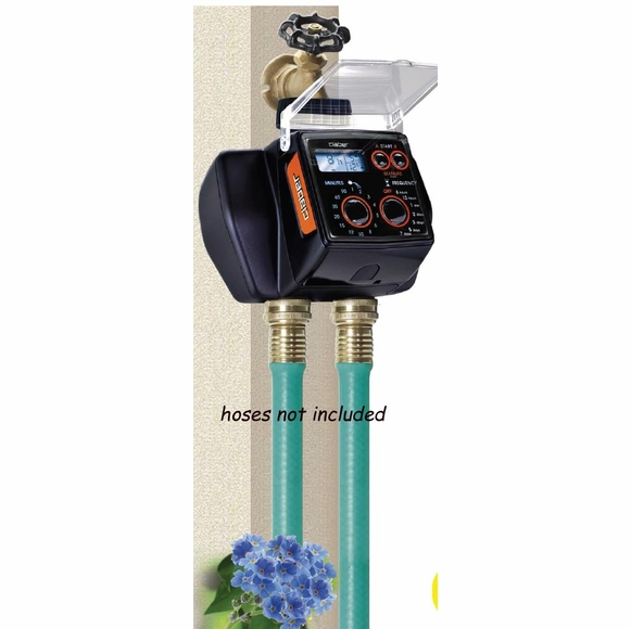 Dual Digital Water Timer - For Control Of Two Hoses Independently