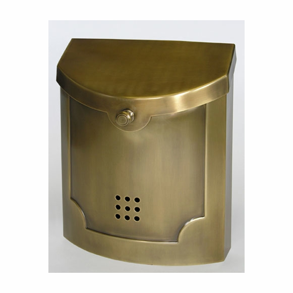 E4 Large Wall Mount Contemporary Mailbox