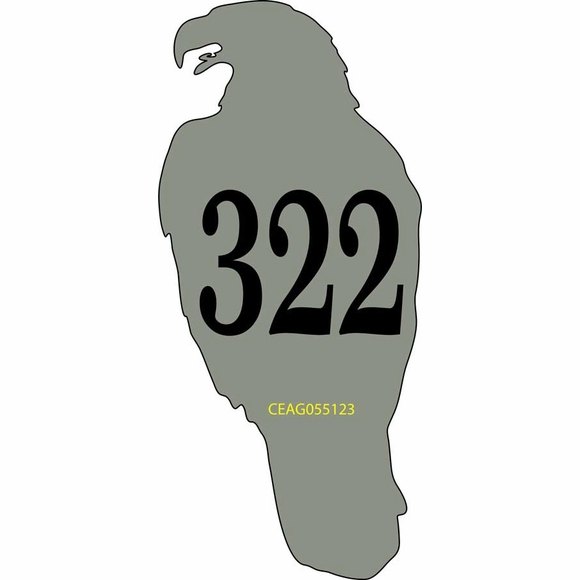 Eagle Shape Address Plaque