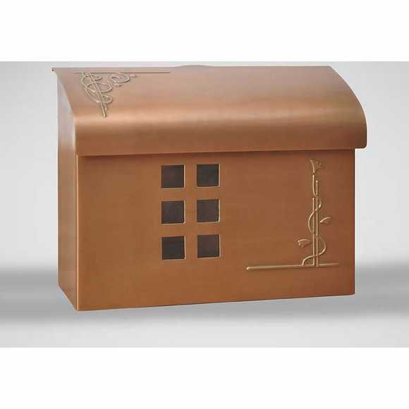 Arts & Crafts Wall Mailbox
