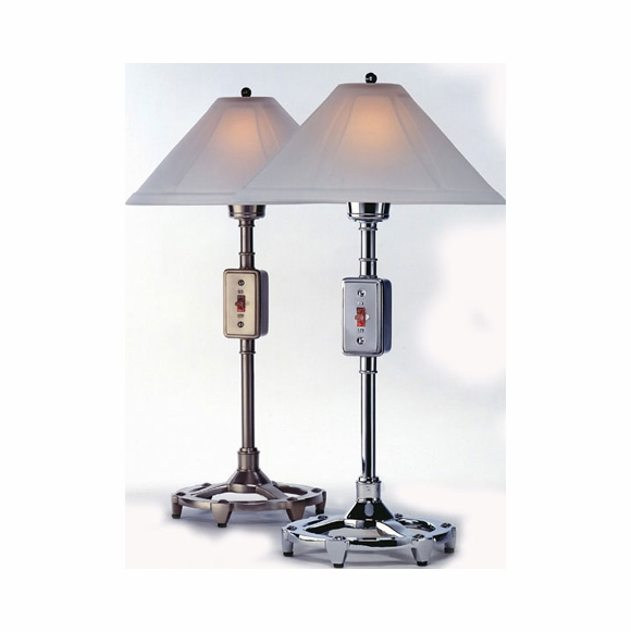 Ecco Table Lamp with Frosted Glass Shade