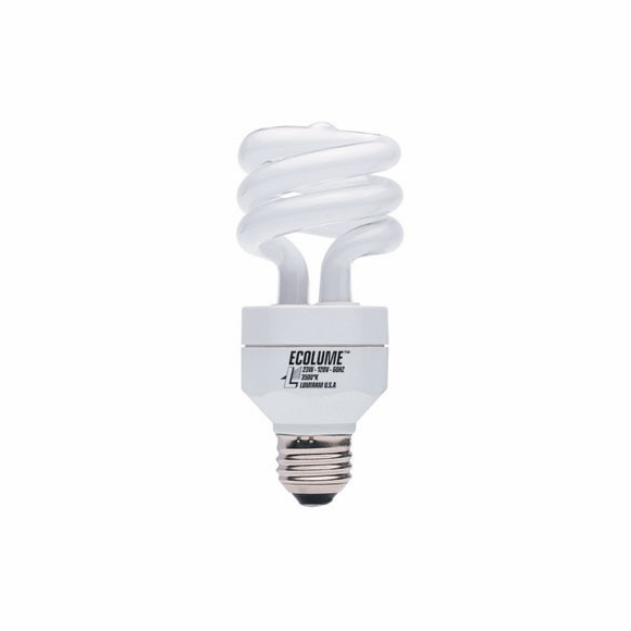 Ecolume CFL 3 Way Spiral Light Bulb