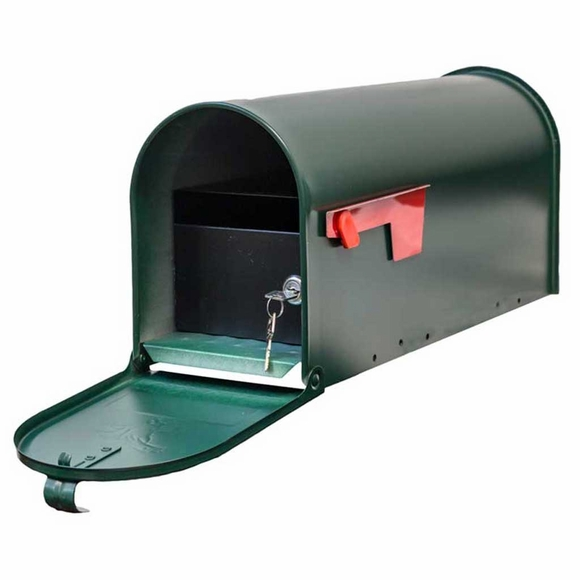 Economy Rural Mailbox with Locking Insert