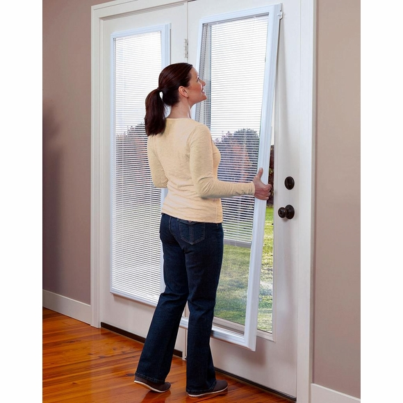 Enclosed Blind For Steel Doors and Fiberglass Doors - Full View Add-On Blinds