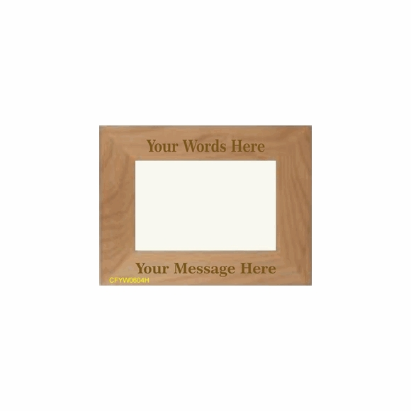 Engrave A Picture Frame