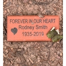 Engraved Memorial Brick - Forever In Our Heart