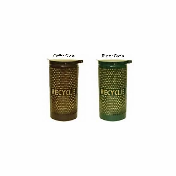 Ex-cell Outdoor Recycling Receptacle