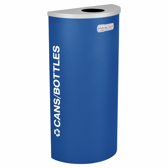 Ex-Cell RC-KDHR Kaleidoscope Half Round Recycling Container