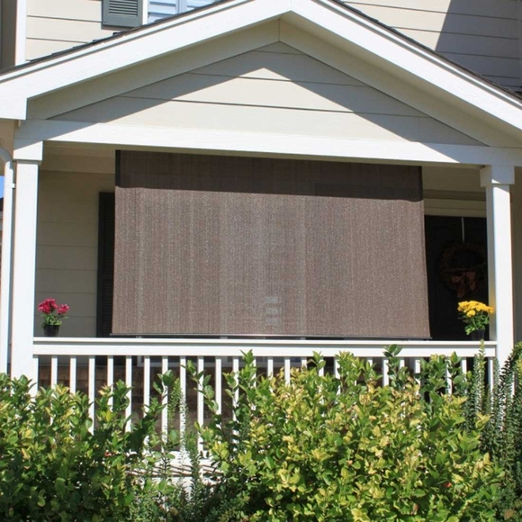 Exterior Solar Window Shade 6' Long, Cord Operated