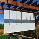 Exterior Solar Window Shade - Cord Operated 8' Long