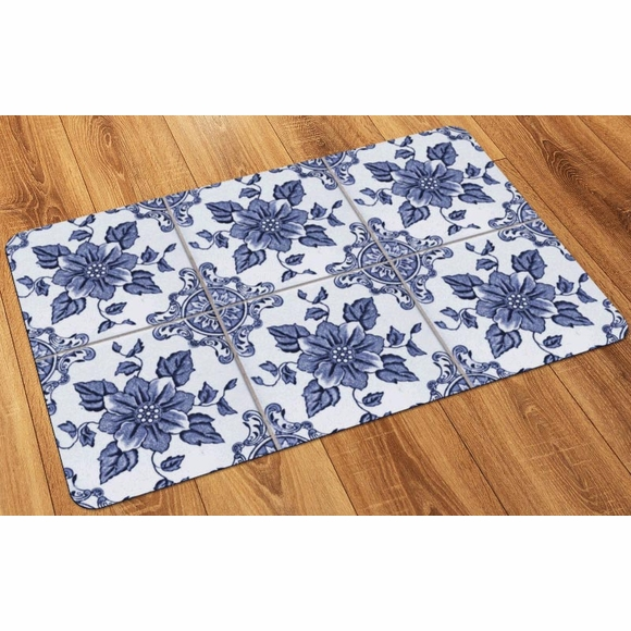 Faux Flooring Printed Tile Floor Mat