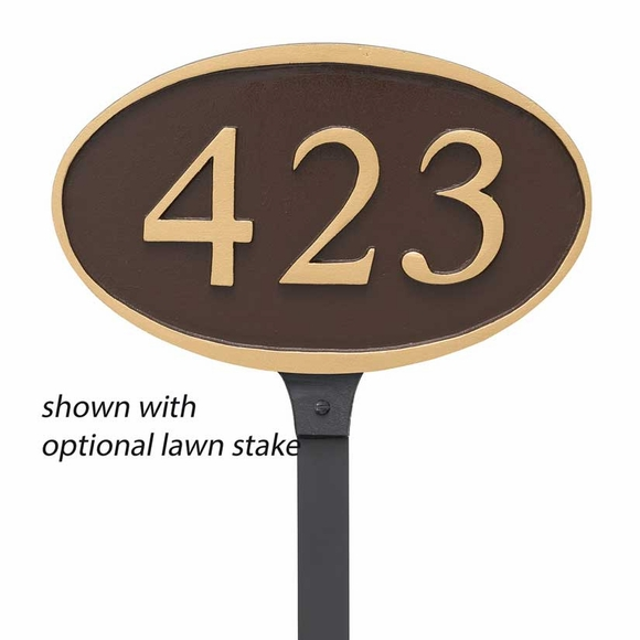 Ferris Oval Address Plaque Sign