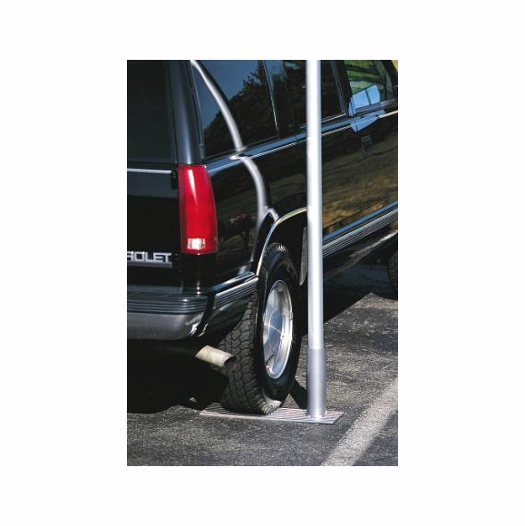 Flagpole Wheel Stand for tailgate parties and RV's