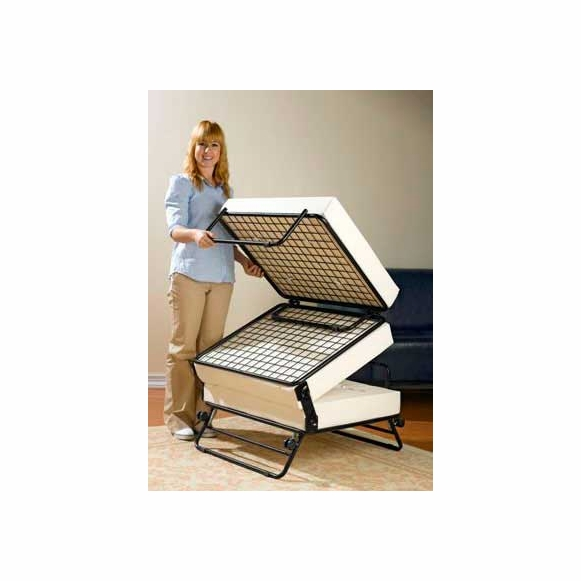 Fold Out Ottoman Guest  Bed