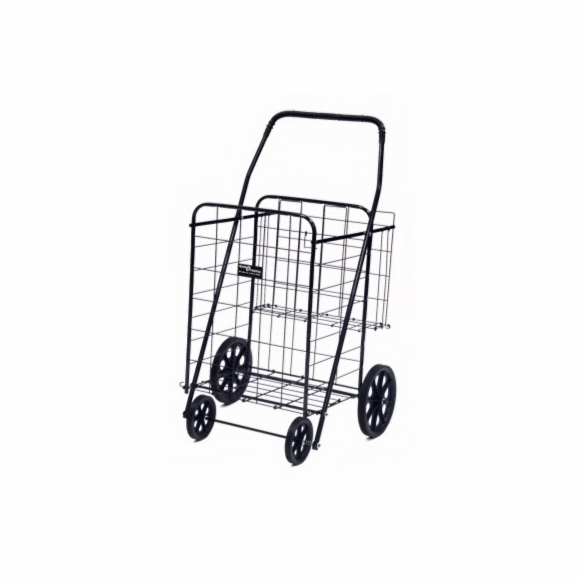 Folding Shopping Cart with rear basket
