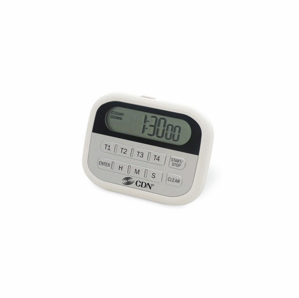 Four Event Timer and Clock - 4 Event Kitchen Timer