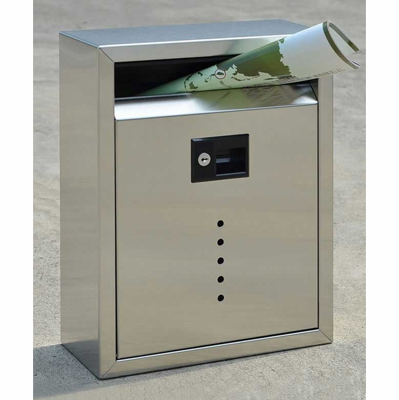 Fuoriserie E10 Stainless Steel Locking Mailbox