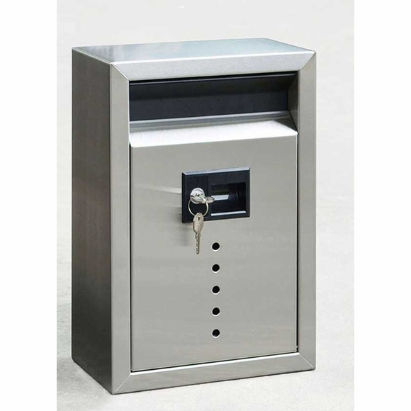 Fuoriserie E9 Stainless Steel Locking Mailbox