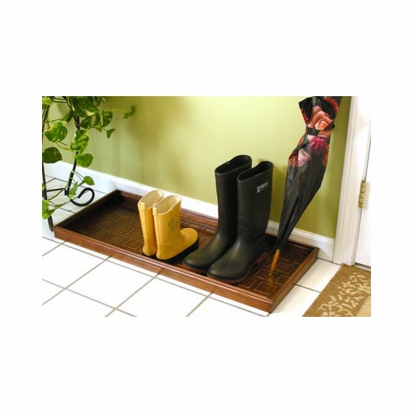 Galvanized Steel Boot Tray
