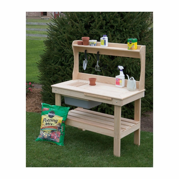 Phenomenal Potting Bench Table Evergreenethics Interior Chair Design Evergreenethicsorg